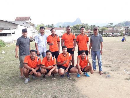 Lomba Bola Voly Kecamatan Kampak